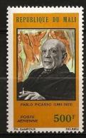 Mali 1973 N° PA 202 ** Tableau, Pablo Picasso, Cubisme, Surréalisme, Les Demoiselles D´Avignon, Seins, Nues, Cigarette - Mali (1959-...)