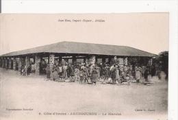 COTE D'IVOIRE 8 ABENGOUROU LE MARCHE - Côte-d'Ivoire