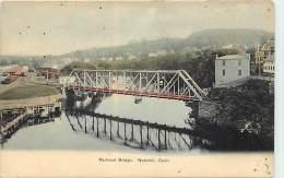 Ref H200- Railroad Bridge - Norwich - Conn- Pont Ligne De Chemin De Fer - Carte Bon Etat - Postcard In Good Condition  - - Etats-Unis