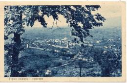 Toscana-firenze-figline Valdarno Veduta Panorama Anni 40 - Italia