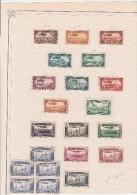 SYRIE- PETIT LOT DE POSTE AERIENNE- OBLITERE- 1931 A 1937  COTE :36 € - Oblitérés