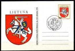 Litauen  - FDC  -  Mi.Nr.   505 - 507 - Litauen