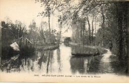 MEUNG SUR LOIRE - Les Bords De La Mauve - Barque - Promeneurs - 79322 - Malesherbes