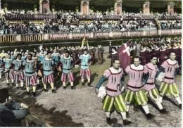 Calcio Sport Firenze Veduta Gioco Del Calcio In Costume Il Corteo - Calcio