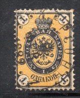 W3038 - RUSSIA 1866 , 1 K N. 17 Usato - 1857-1916 Impero