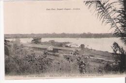 COTE D'IVOIRE 12 ABIDJAN LA GARE LAGUNE ET LES QUAIS - Côte-d'Ivoire