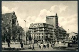 Leipzig, Karl Marx Platz, Luftpost, Par Avion. 1959, Messesonderflugverkehr. - Leipzig