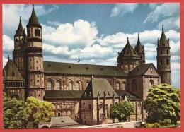 CARTOLINA NV GERMANIA - WORMS Am Rhein - Il Duomo - Dom - 10 X 15 - Worms