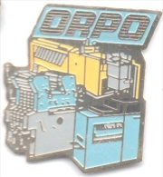 Z119 Pin´s ORPO Imprimerie Machine Outil Achat Immediat - Other