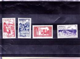 MAROC :  : Y&T : 266* à 269 * - Morocco (1891-1956)