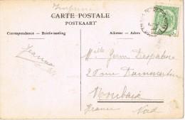 14111. Postal Imprimés ANVERS (Belgie) Depart Station 1919 - Bélgica