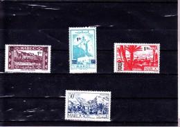 MAROC :  : Y&T : 296* à 298*-305* - Maroc (1891-1956)