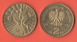 Polonia Polska 2 Zloty 2013 WARTA POZNAN - Polonia