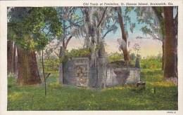 Old Tomb At Frederisca Saint Simons Island Brunswick Georgia