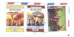 F1361 - Republique Du BURUNDI AFRICA Fungo Mushroom Champignon  - Francobollo - Burundi