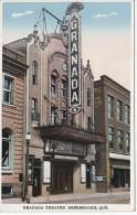 Sherbrooke Québec Canada - Théâtre Granada Cinéma - Rue Wellington Street - 2 Scans - Sherbrooke