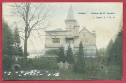 Boitsfort - Château De M. Poncelet - 1907 ( Voir Verso ) - Watermael-Boitsfort - Watermaal-Bosvoorde