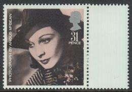 Great Britain 1985 British Movie Stars: Vivien Leigh. Mi 1047 MNH - Neufs