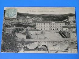 LA SEAUVE SUR SEMENE Château Et Pont Sur La Semène - Francia