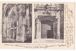 FONTENAY LE COMTE. - L'Eglise Notre-Dame. Carte Précurseur - Fontenay Le Comte