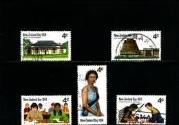 NEW ZEALAND - 1974  NEW ZEALAND DAY  SET  FINE USED - Usati