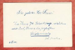 3 Verschiedene Schriftstuecke, Kraus, Schwabmuenchen 1945 (78749) - Mitteilung