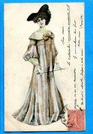 LIPP654, Femme Avec Un Chapeau Et Une Longue Robe ,circulée 1903 - Femmes