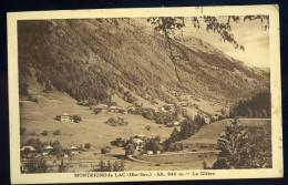 Cpa Du 74 Montriond Le Lac -- La Glière   AA13 - Sin Clasificación