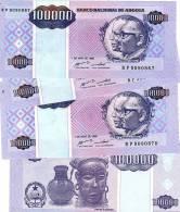 ANGOLA 100000 KWANZAS 1995 UNC - Angola