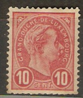Grand-Duché De Luxembourg - Adolphe Ier - Timbre  YT 73 - 1895 - MNH - 1895 Adolphe Right-hand Side