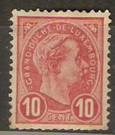 Grand-Duché De Luxembourg - Adolphe Ier - Timbre  YT 73 - 1895 - MNH - 1895 Adolphe De Profil