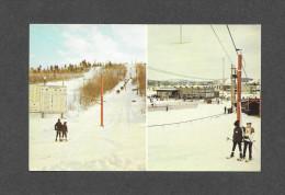 SPORTS D' HIVER - SKI - LA TUQUE CENTRE MUNICIPAL DE SKI - PHOTO GILLES BERTHIAUME - Sports D'hiver