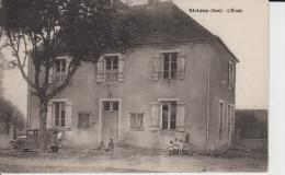 CPA St-Loup (Jura) - Saint Loup - L'école - France