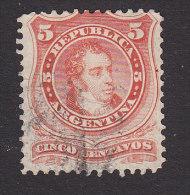 Argentina, Scott #18, Used, Bernardino Rivadavia, Issued 1867 - Usati