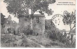 GALLARGUES - Ruines Du Moulin De Vendran - Gallargues-le-Montueux