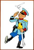 CP Carte Postale Hergé / Moulisart N° 097 > Tintin : L´oreille Cassée - Tintin