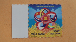 Vietnam Viet Nam MNH Stamp 2015 : Join Issue With South East Asia Countries / Flag / Bird (Ms1057) - Vietnam