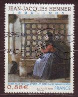 FRANCE - 2008 - YT N° 4286  -oblitéré - Henner - Used Stamps