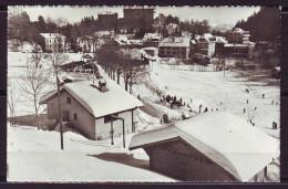 CPSM  De ST CERGUE  Sous La Neige   Annee 1957   Num 3427 Pour VILLANDRY I.et.L  Affranchie Avec 2 Timbres - Autres