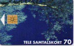 FINLAND(ALAND) PHONECARD(CHIP) BIRCH   12/96-8000pcs-D116-USED(2) - Aland