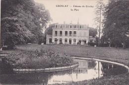 95 -- Val D'Oise -- Groslay -- Le Château -- Le Parc - Groslay