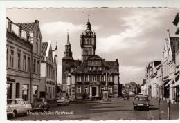AK Verden An Der Aller, Mit Rathaus, Autos, Ca. 1960 - Verden