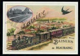 BEAURAING -......TRAIN ....  Souvenir  Creation Moderne Série Limitée Et Numerotée 1 à 10 ... N° 2/10 - Beauraing