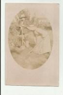 Mont-Saint-Guibert   * (carte-photo 1909) Famille Avec Chien - Mont-Saint-Guibert