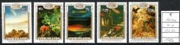 1986 COOK ISLAND  Cometa Di Halley Serie Completa  Nuova ** MNH - Cook