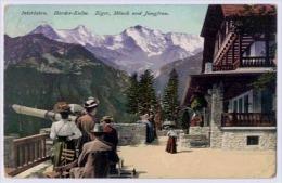 INTERLAKEN Harder-Kulm Eiger Mönch Und Jungfrau - BE Berne