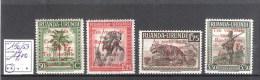 Ruanda-Urundi : n� 150/53 ** Fra�cheur postale  Cote COB : 17,00 �.