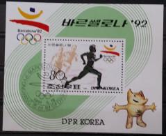 North Korea, 1991, Mi:Block 264 , Cancelled (o) - Summer 1992: Barcelona