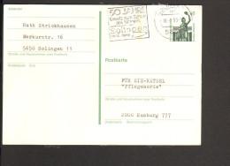 Serienstempel Aus Solingen 50 Jahre Gesetz Zum Schutz Des Namens 1936-1988 - Vornamen