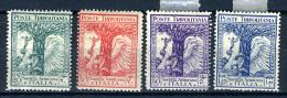 1928 -  Italia - COLONIE - Tripolitania - Sass. N.  46/49 - LH -  (B0111082015a..) - Tripolitania